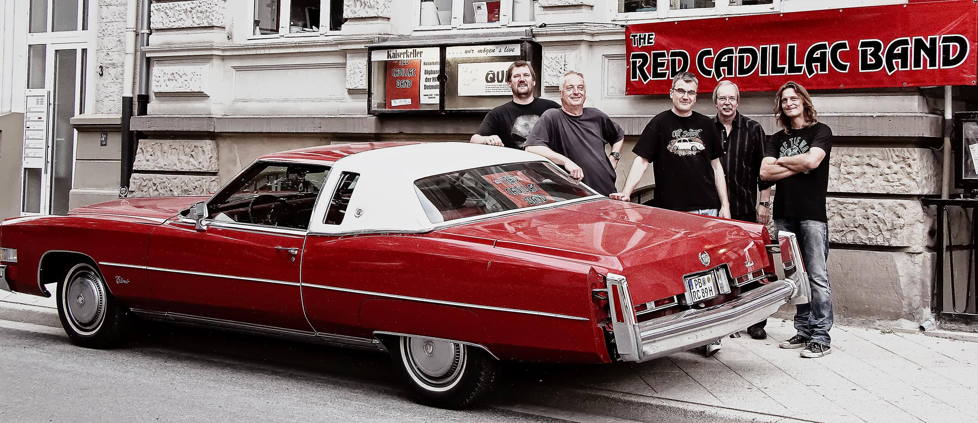 The Red Cadillac Band - Finest Party Rock since 1989 macht ihrem Namen alle Ehre